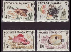 Französisch Polynesien: 1962, Freimarken Fische