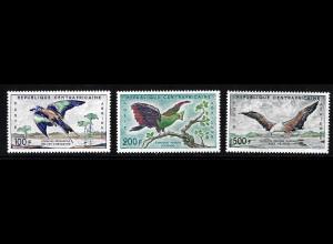 Zentralafrikanische Republik: 1960, Freimarken Vögel