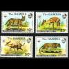 Gambia: 1976, Tiere (frühe WWF-Ausgabe, M€ 100,-)