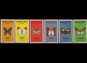 Senegal: 1963, Schmetterlinge