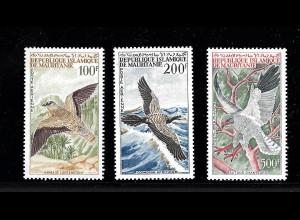 Mauretanien: 1964, Freimarken-Ergänzungswerte Vögel