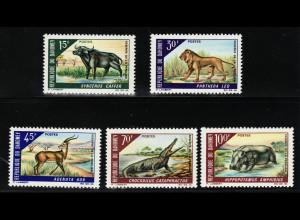 Dahomey: 1966, Tiere