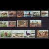 Sambia: 1975, Freimarken Tiere und einheimische Bilder