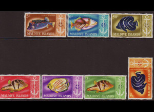Malediven: 1967, Fische