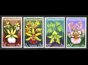 Kaiman-Inseln: 1971, Orchideen