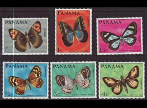 Panama: 1968, Schmetterlinge