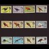 Belize (Britisch-Honduras): 1962, Freimarken Vögel