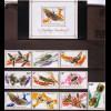 Ruanda: 1973, Insekten (Satz und Blockausgabe)