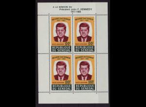 Senegal: 1964, Blockausgabe Präsident Kennedy