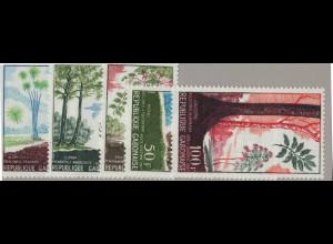 Gabun: 1967, Einheimische Baumarten
