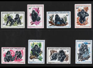 Ruanda: 1970, Berggorilla