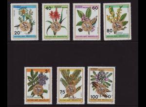 Ruanda: 1973, Überdruckausgabe Heilkräuter und Arzneipflanzen