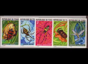 Tschad: 1972, Insekten und Spinnentiere