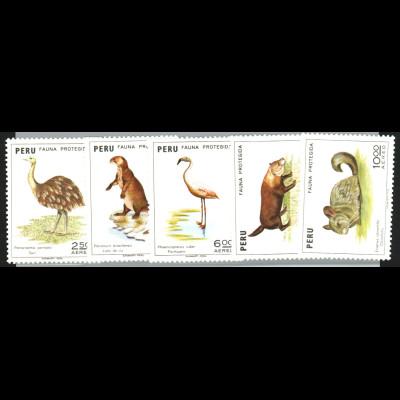 Peru: 1973, Tierschutz (Tiere)