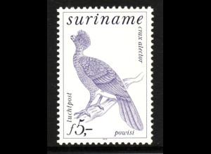 Surinam: 1979, Freimarkenergänzungswert Vögel 5 G.