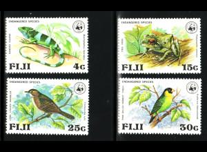 Fidschi-Inseln: 1979, Seltene Tiere (frühe WWF-Ausgabe)