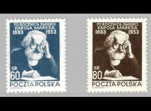 Polen: 1953, Karl Marx