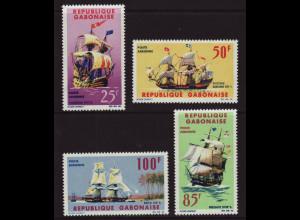 Gabun: 1965, Segelschiffe