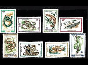 Kongo / Brazzaville: 1971, Reptilien