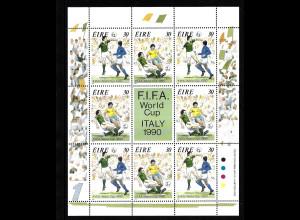 Irland: 1990, Kleinbogen Fußball-WM Italien (Spielszenen)