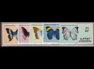Äthiopien: 1967, Schmetterlinge