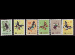 China Taiwan: 1958, Insekten