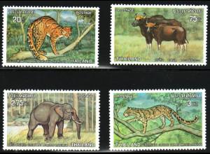 Thailand: 1975, Tierschutz (Wildtiere)