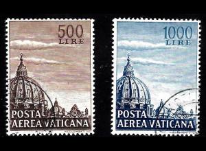 Vatikan: 1953, Kuppeln der Peterskirche