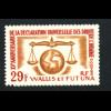 Wallis- und Futuna-Inseln: 1963, Allgemeine Erklärung der Menschenrechte