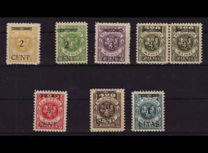 Memelgebiet: 1923, Überdruckausgabe Wappenreiter (M€ 90,-)