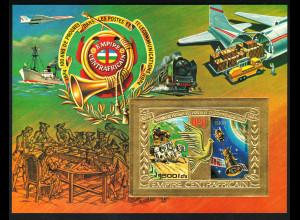Zentralafrikanische Republik: 1978, Goldblock Post- und Fernmeldewesen