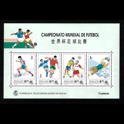 Macau: 1994, Blockausgabe Fußball-WM USA