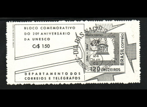 Brasilien: 1966, Blockausgabe UNESCO