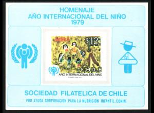 Chile: 1979, Jahr des Kindes (katalogisiertes Gedenkblatt)