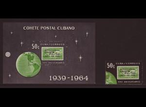 Kuba: 1964, Postraketenflug (Weltraum)