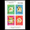 Kolumbien: 1961, Blockausgabe Sportspiele