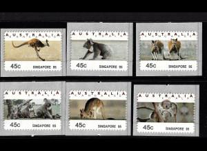 Australien: 1994, Automatenmarken Kängurus und Koalabären