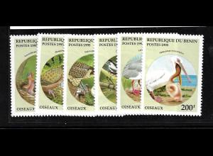 Benin: 1995, Vögel