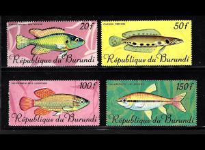 Burundi: 1967, Fische (nur Höchstwerte)