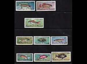 Burundi: 1967, Fische