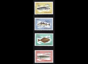 Dänemark - Färöer: 1983, Fische