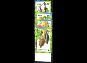 Fidschi-Inseln: 1997, Affengesicht-Flughund (WWF-Ausgabe)