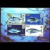 Fidschi-Inseln: 2004, Blockausgabe Thunfisch (WWF-Ausgabe)