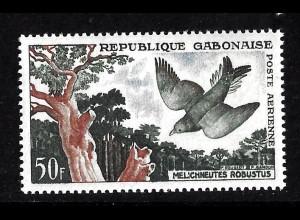 Gabun: 1961, Vögel