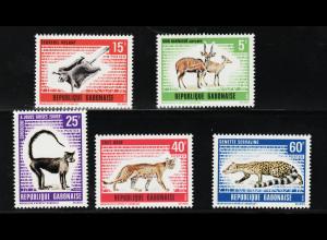 Gabun: 1970, Wildtiere