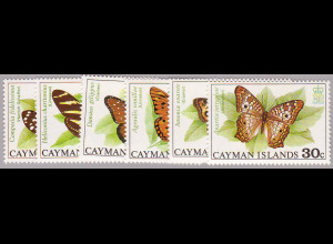 Kaiman-Inseln: 1977, Schmetterlinge