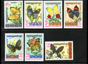 Kambodscha: 1983, Schmetterlinge
