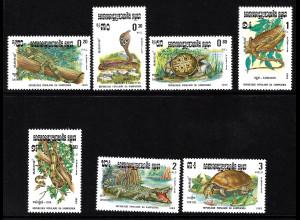 Kambodscha: 1983, Reptilien