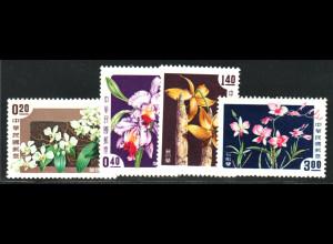 China - Taiwan: 1958, Orchideen
