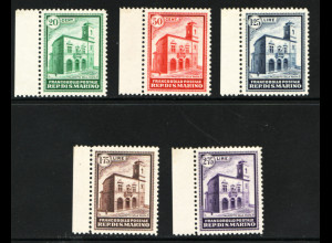 San Marino: 1932, Einweihung des neuen Postgebäudes (postfrisch, M€ 1300,-)